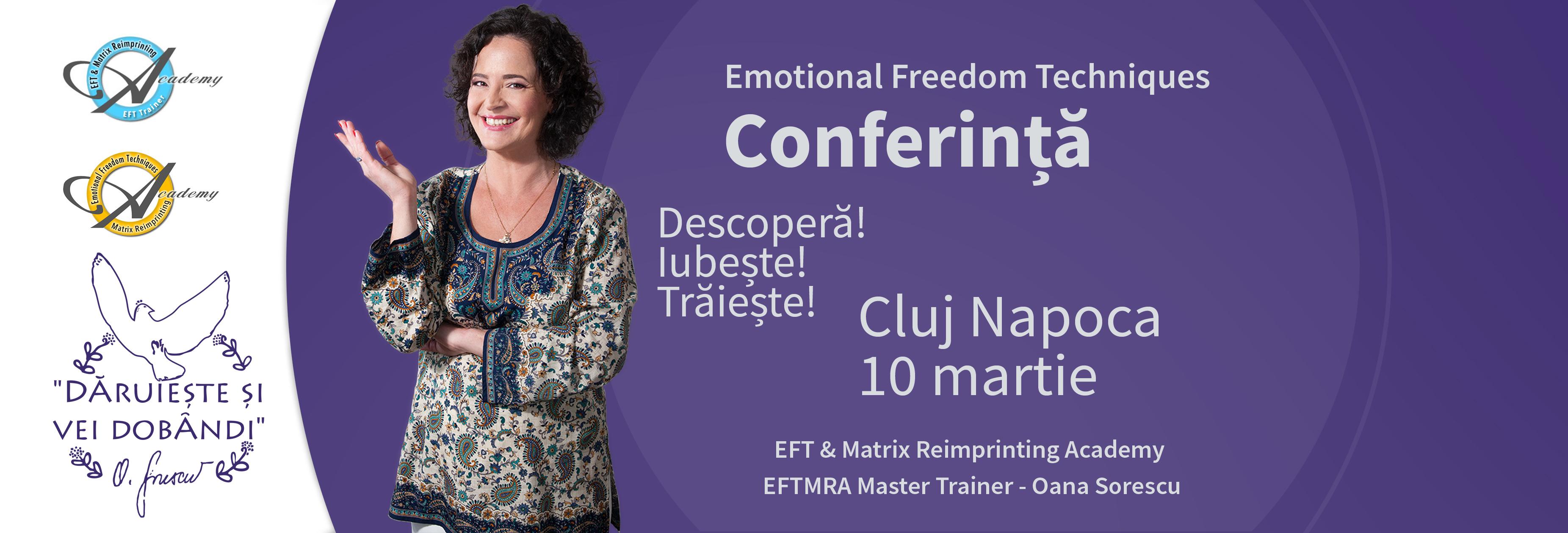 Conferinta EFT Cluj-Napoca