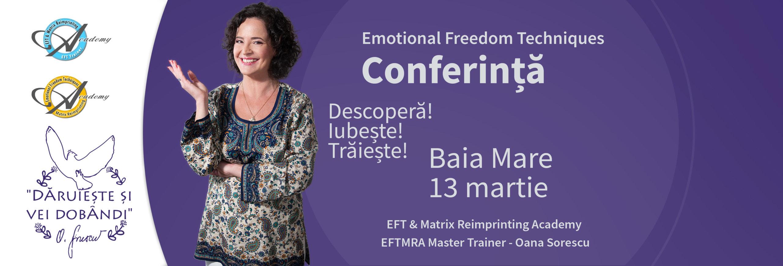 Conferinta EFT Baia Mare