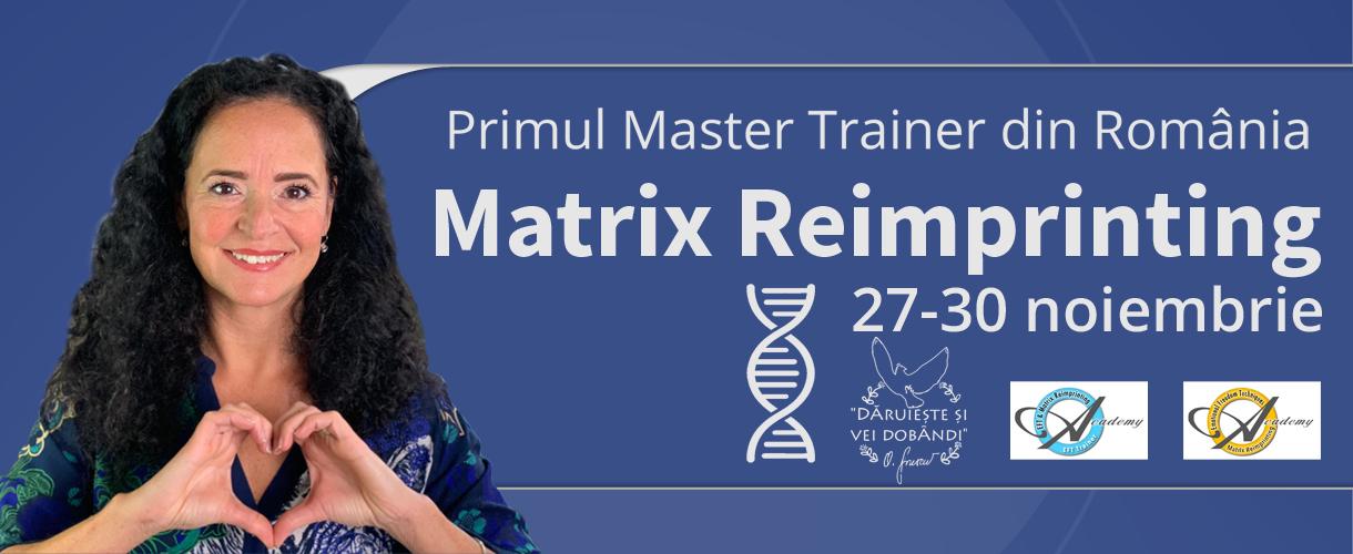 Matrix Reimprinting cu Oana Sorescu