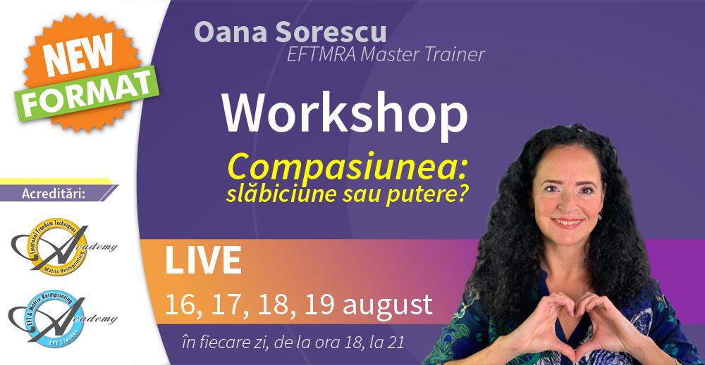 Workshop compasiune 16-19 august 2021