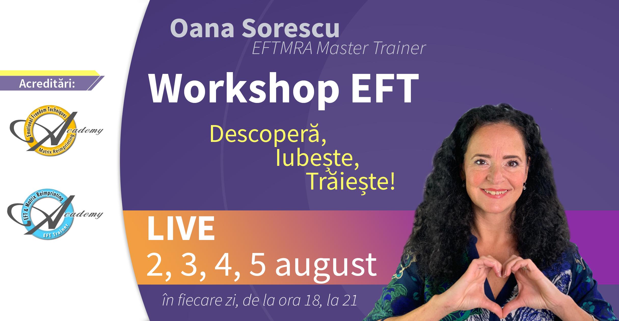 workshop EFT Oana Sorescu
